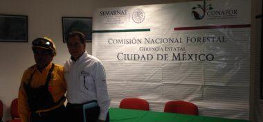 Un equipo de combatientes forestales mexicanos apoyó para mitigar los daños de los incendios en Chile