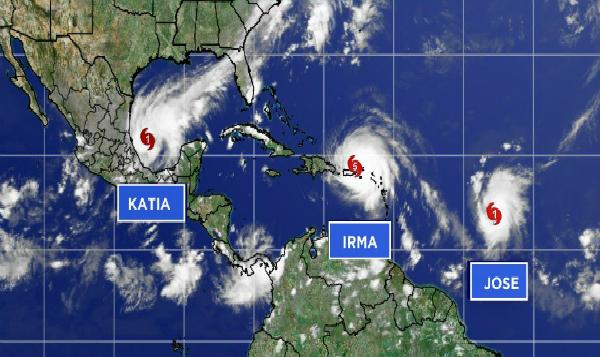 Más de 10 paraísos del caribe afectados por Irma