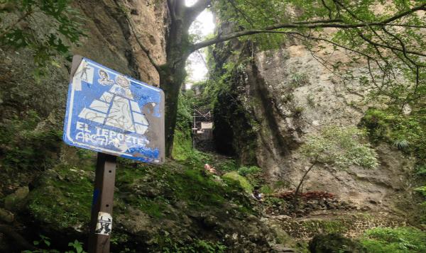 Cierran el acceso a la pirámide del Tepozteco