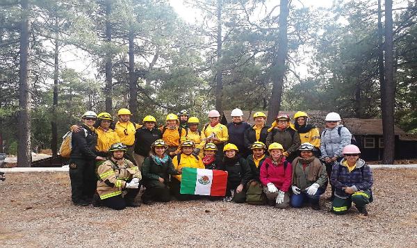 Encuentro internacional sobre incendios forestales es liderado por mujeres mexicanas