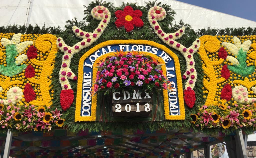 El corazón de la CDMX se llena de flores