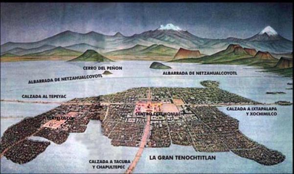 La ciudad que creció sobre un lago