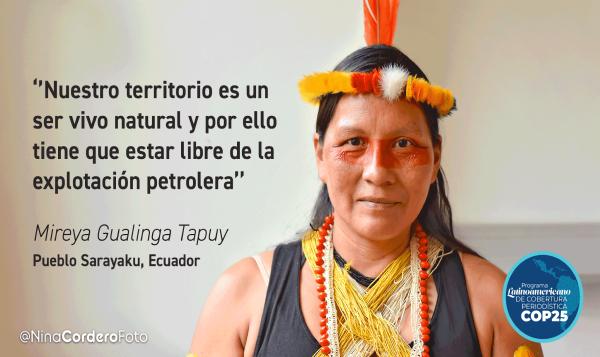 Cumbre social: indígenas amazónicos comparten experiencias sobre la defensa de sus territorios