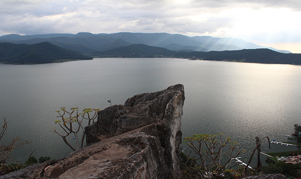 Presas de agua del sistema Cutzamala presentan disminución