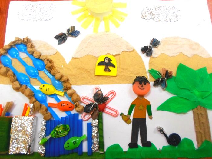 Educación ambiental a través del arte y la creatividad