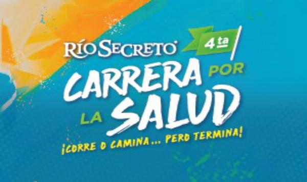 Río Secreto invita a carrera por la salud en la Riviera Maya