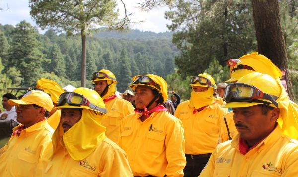 México se suma para combatir incendios forestales en el hemisferio norte