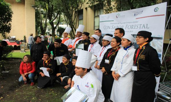 Gastronomía mexicana permite crear sinfonía forestal