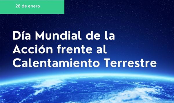 Día Mundial de la Acción frente al Calentamiento Terrestre en el contexto de la pandemia por el COVID19